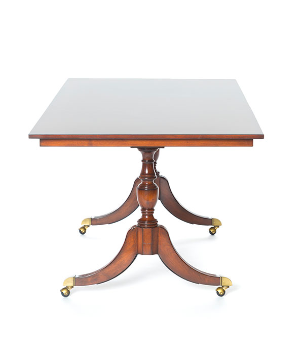Linden Blue Flip Top Tables
